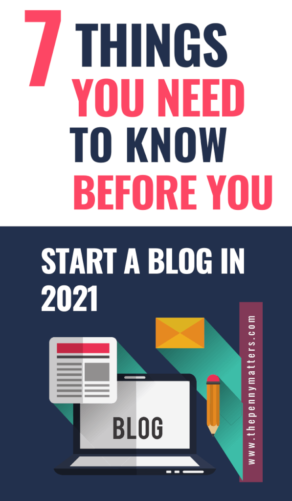 What You Need to Know Before You Start a Blog Pin