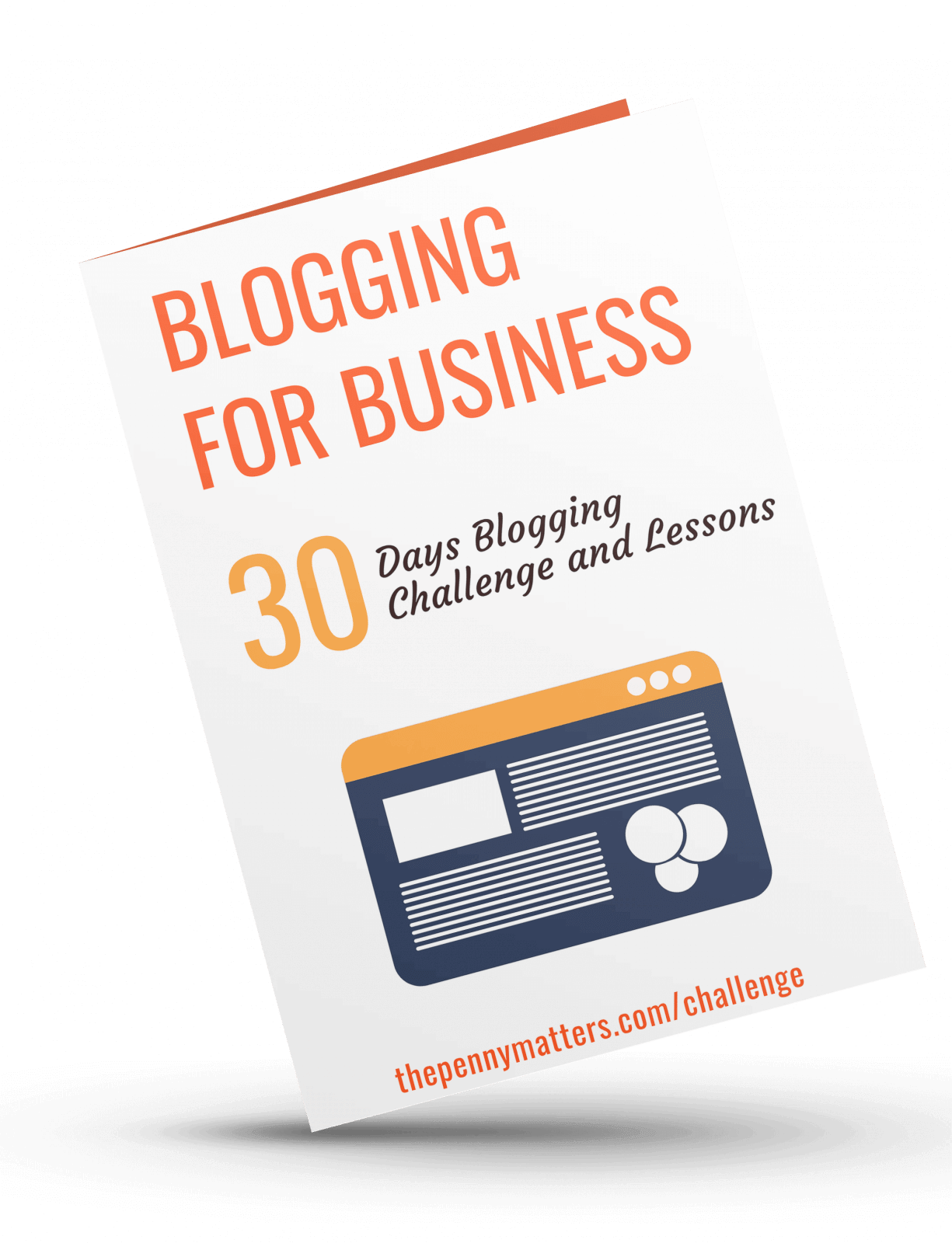 30 days blogging challenge blogging for business