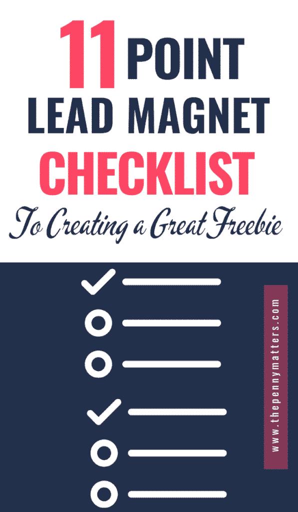 Lead Magnet Checklist