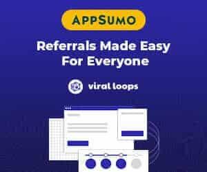 appsumo deals viral loops sidebar