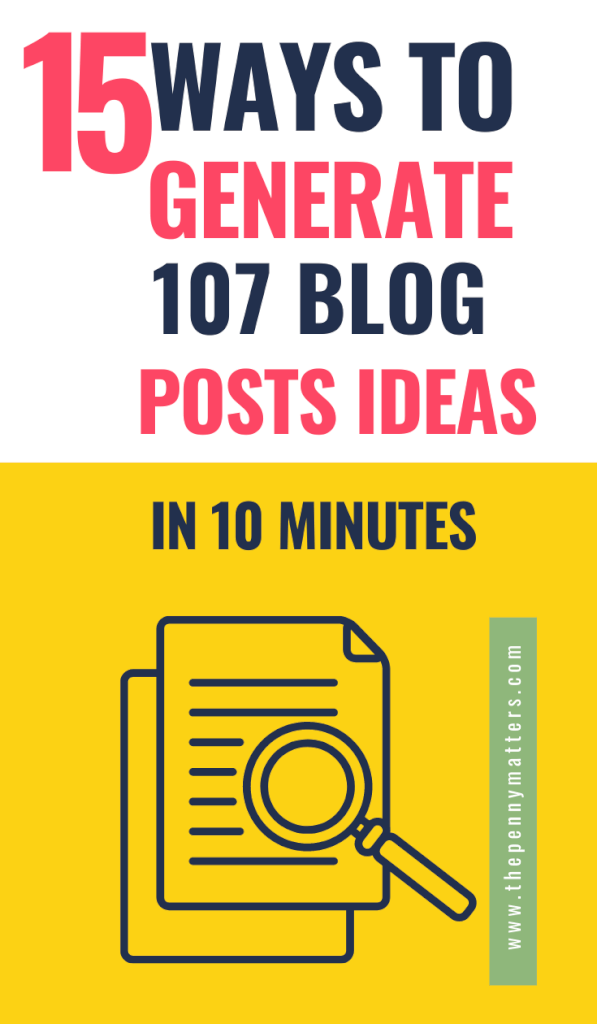 How to Come Up with Blog Post Ideas