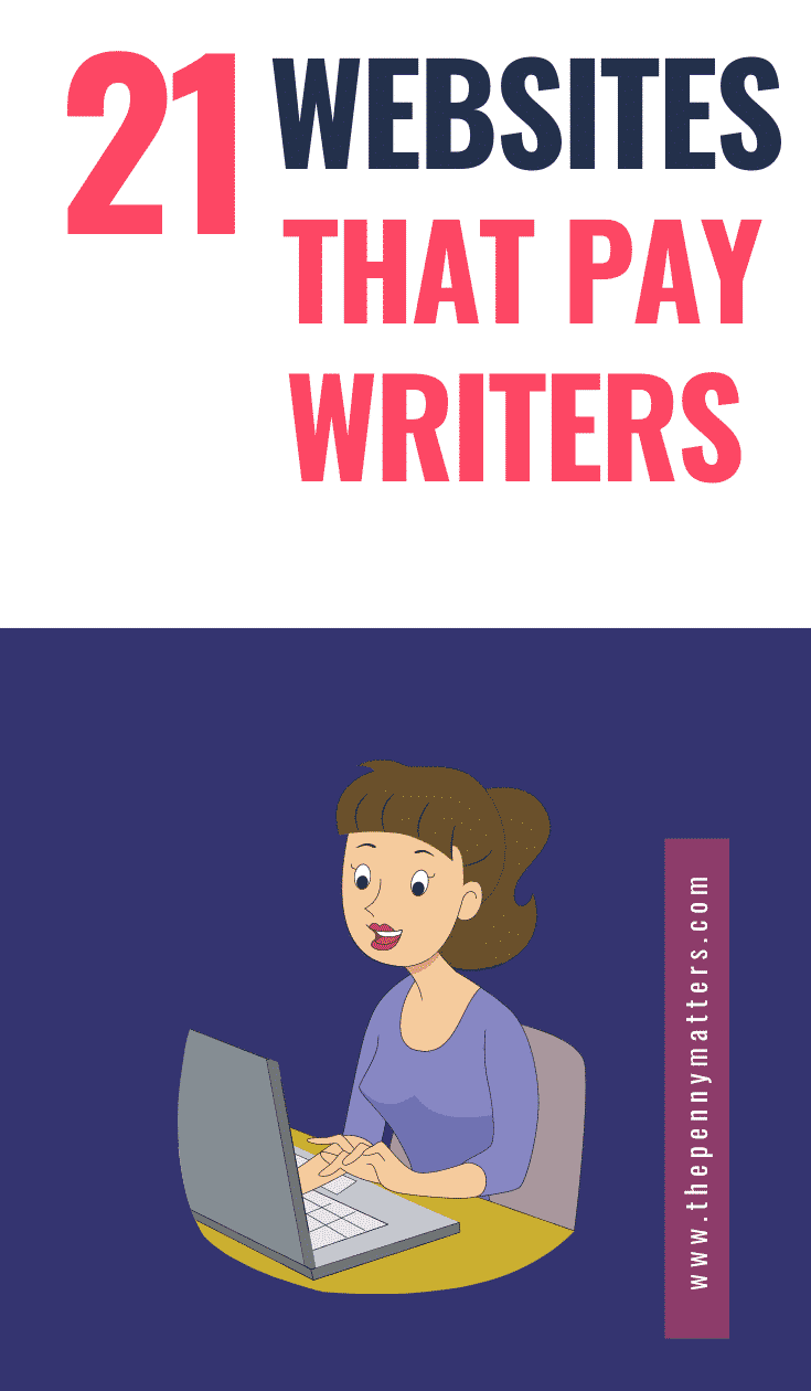 21 websites that pay writers