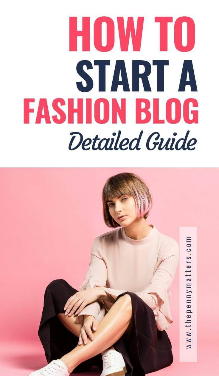 how to start a fashion blog that makes money