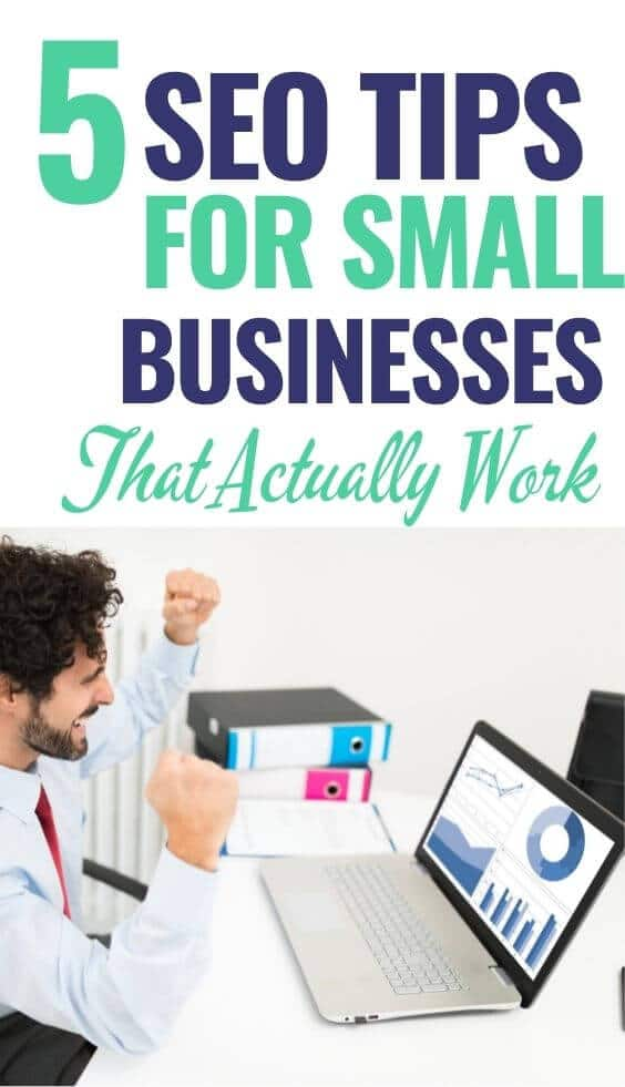 Growing a small business requires commitment strategy and the willingness to try new channels. Use these SEO tips for small businesses to boost your growth. #seotips #smallbusiness #smallbusinessmarketing #smallbusinessseo